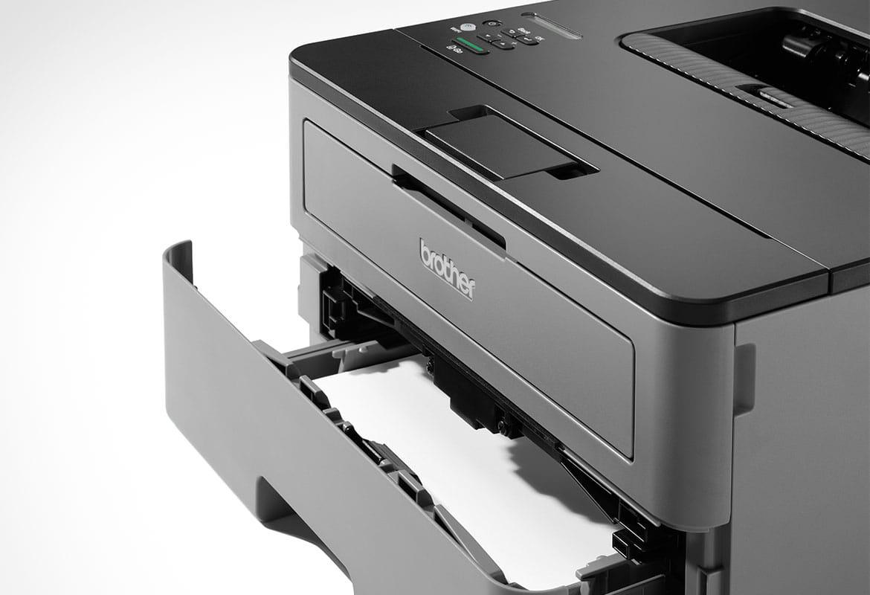 drukarka laserowa monochromatyczna  HL-L2350DW z otwartym podajnikiem papieru