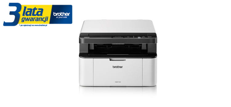 Brother TonerBenefit printer DCP-1623WE product picture with 3 years warranty logotype
