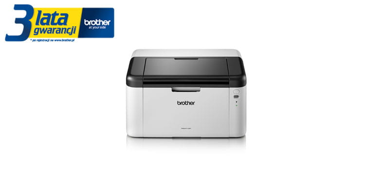 Brother TonerBenefit printer HL-1223WE product picture with 3 years warranty logotype