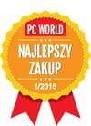 Odznaczenie PC World Najlepszy Zakup 2015