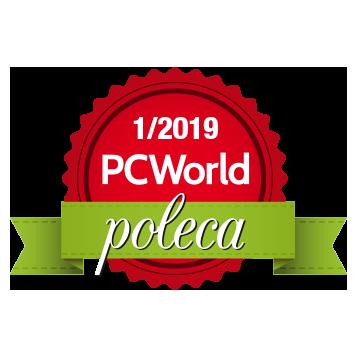 Odznaczenie PC World poleca styczeń 2019