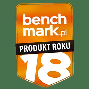 Odznaczenie Benchmark.pl produkt roku 2018