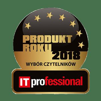 Znaczek IT Professional produkt roku 2018 wybór czytelników