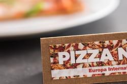 Topper pizza wydrukowany na drukarce VC-500W