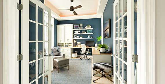 zdjęcie domowego biura