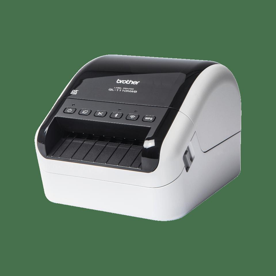 QL-1110NWB umożliwiająca umieszczanie kodów kreskowych  2