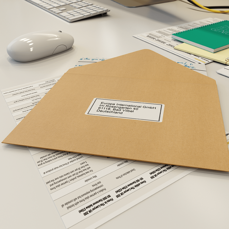 QL-600B drukarka etykiet adresowych i wysyłkowych 4