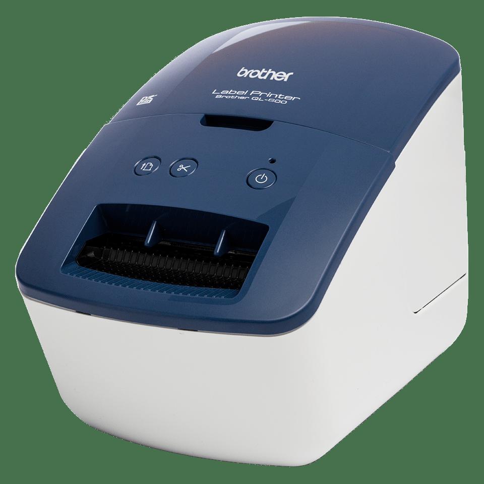 QL-600B drukarka etykiet adresowych i wysyłkowych 2