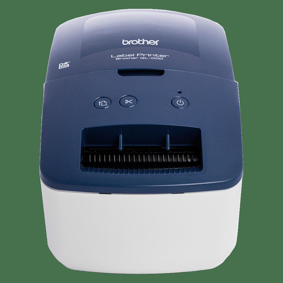QL-600B drukarka etykiet adresowych i wysyłkowych