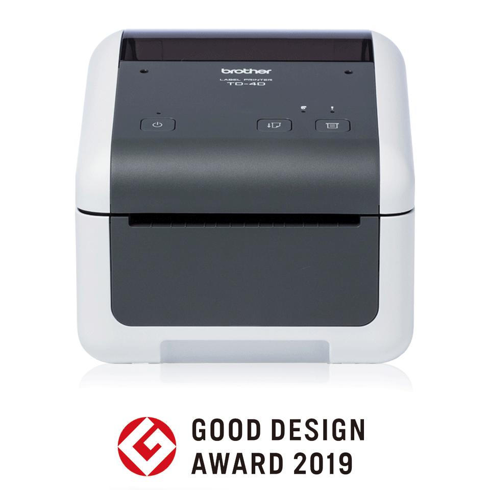 TD-4410D wysokiej jakości nabiurkowa drukarka etykiet
