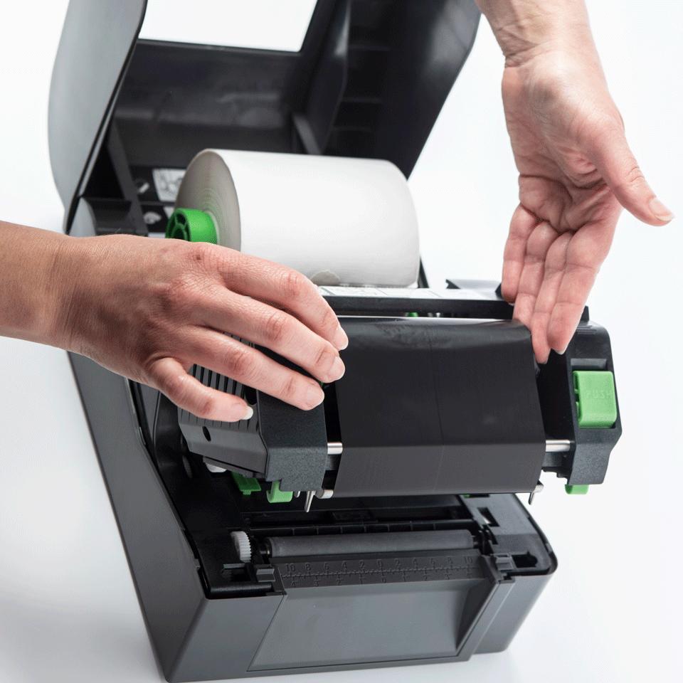 TD-4420TN termotransferowa nabiurkowa drukarka etykiet Brother 5