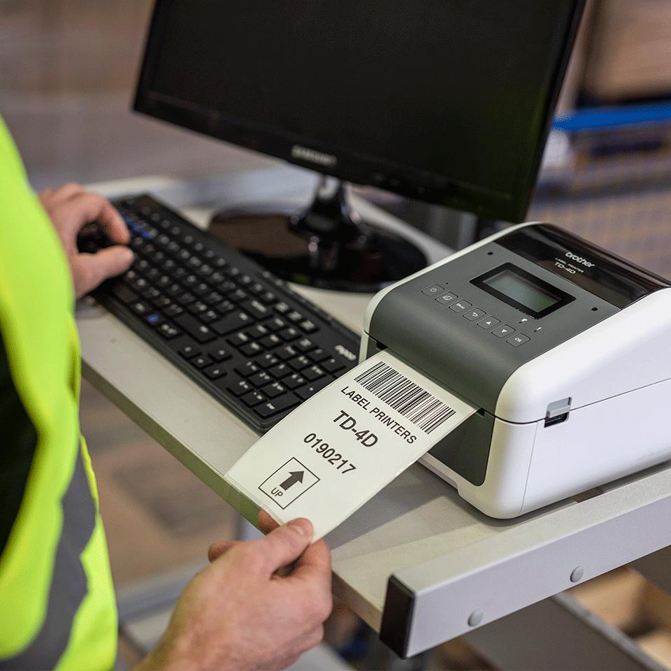 TD-4550DNWB wysokiej jakości nabiurkowa drukarka etykiet 7