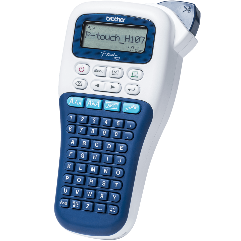 PT-H107B Handheld Label Printer