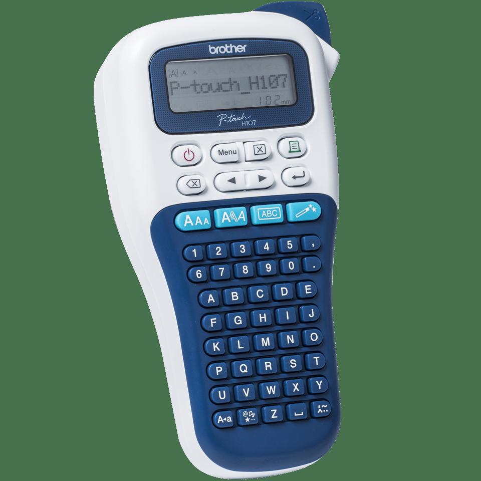 PT-H107B Handheld Label Printer 3