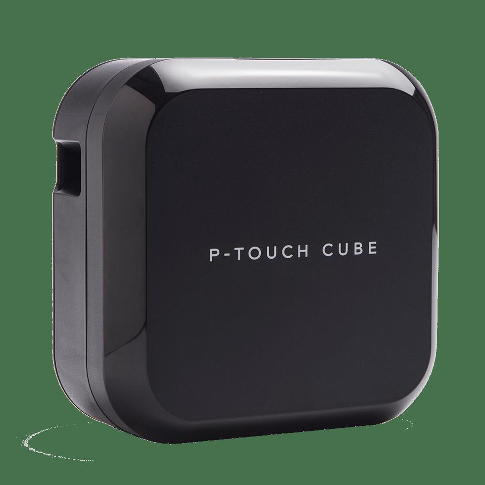 Drukarka etykiet P-touch CUBE (PT-P710BT) z możliwością ponownego ładowania oraz Bluetooth