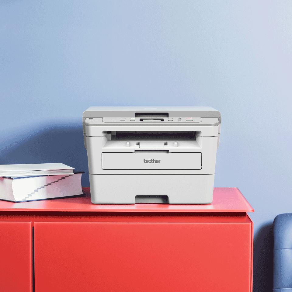 "DCP-B7520DW Niewielka drukarka laserowa typu ""3 w 1"" 4"