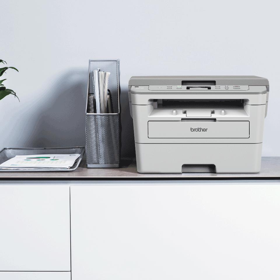 "DCP-B7520DW Niewielka drukarka laserowa typu ""3 w 1"" 5"