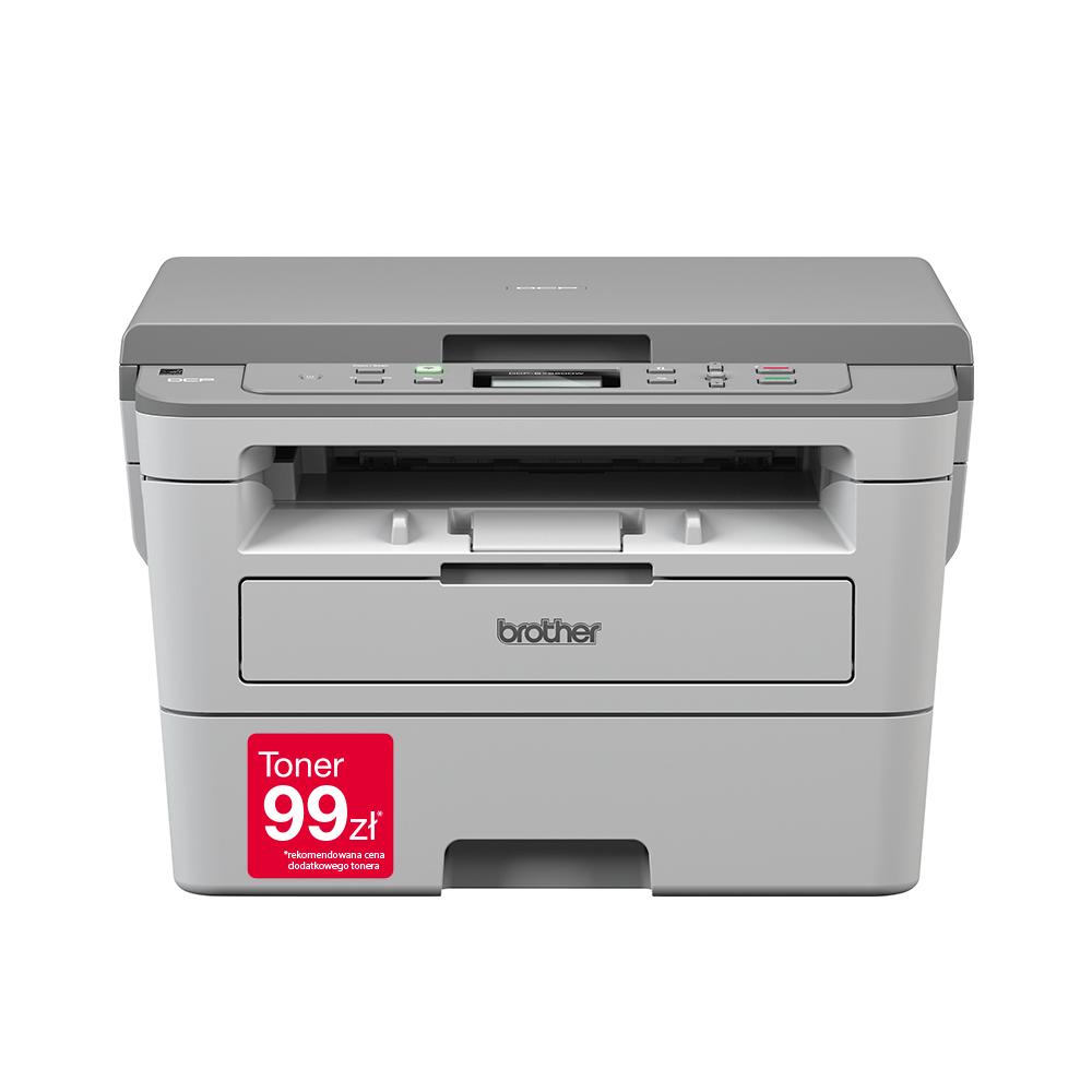 "DCP-B7520DW Niewielka drukarka laserowa typu ""3 w 1"""
