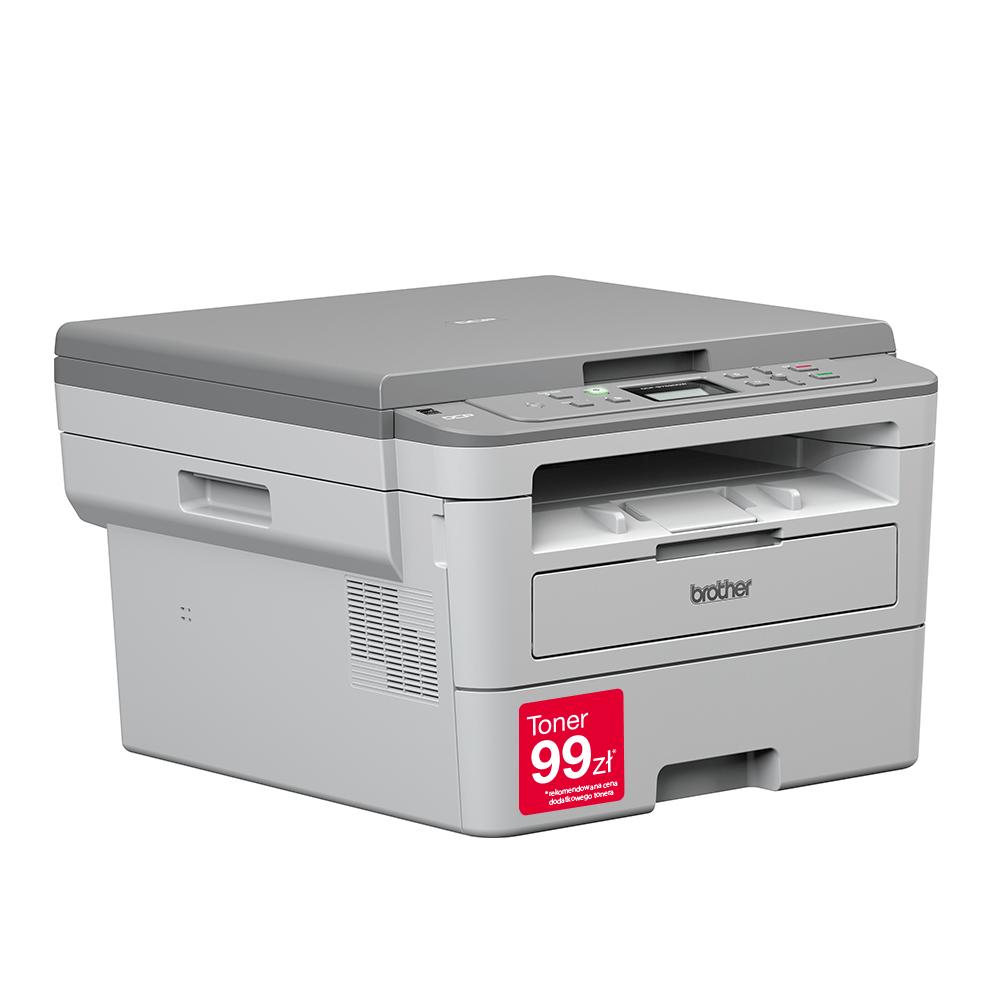 "DCP-B7520DW Niewielka drukarka laserowa typu ""3 w 1"" 3"