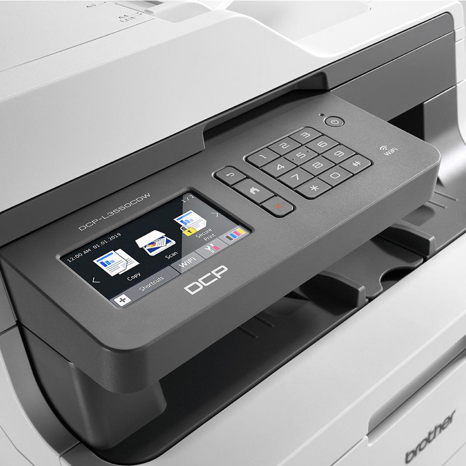 DCP-L3550CDW kolorowe urządzenie LED 3-w-1  4