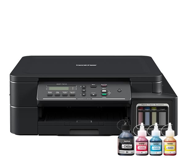 DCP-T310 InkBenefit Plus - kolorowe urządzenie wielofunkcyjne '3 w 1'  4