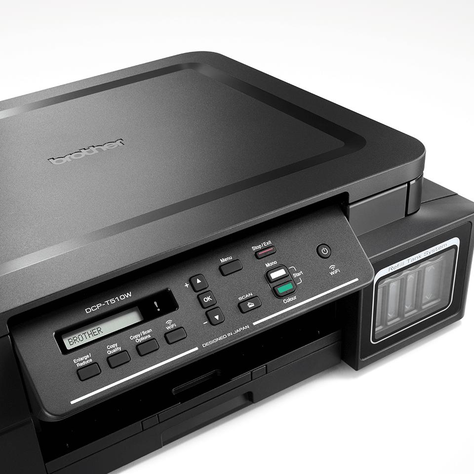 DCP-T510W InkBenefit Plus - bezprzewodowe urządzenie atramentowe '3 w 1'  6