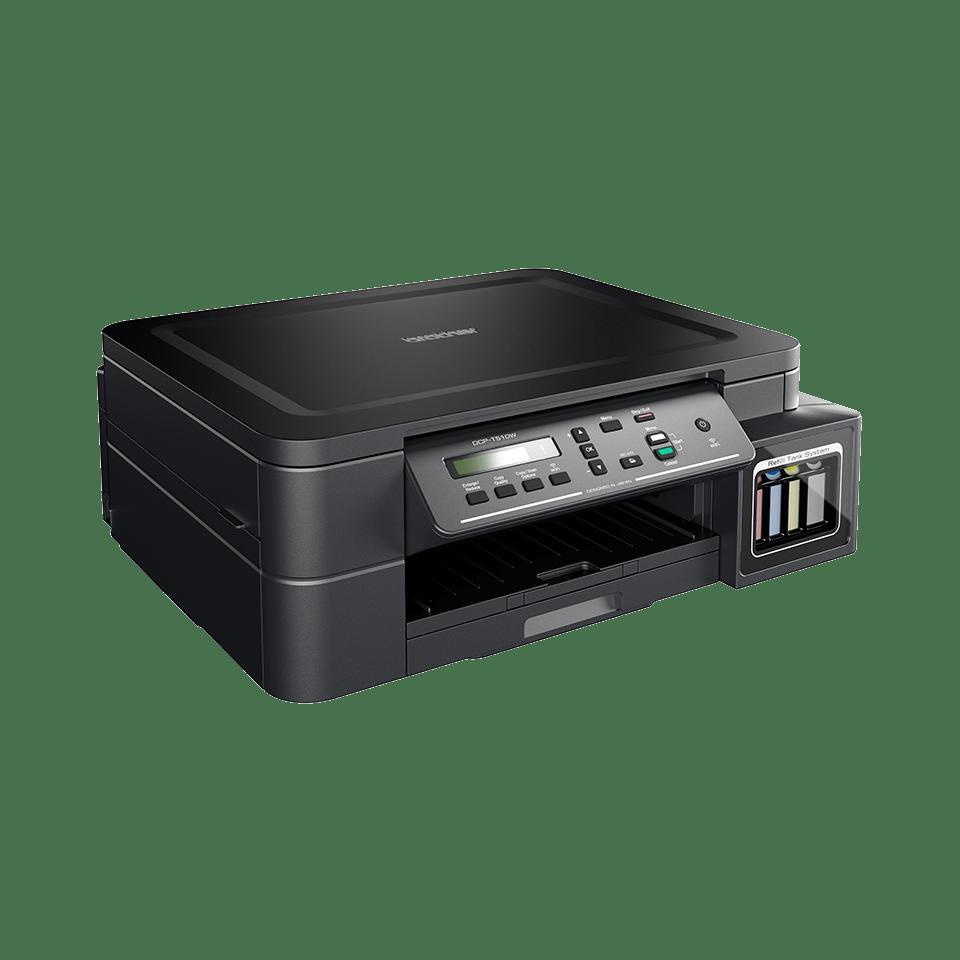 DCP-T510W InkBenefit Plus - bezprzewodowe urządzenie atramentowe '3 w 1'  2