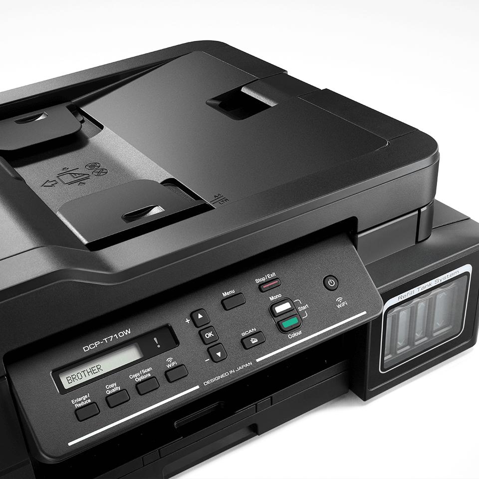 DCP-T710W InkBenefit Plus - bezprzewodowe urządzenie atramentowe '3 w 1'  4