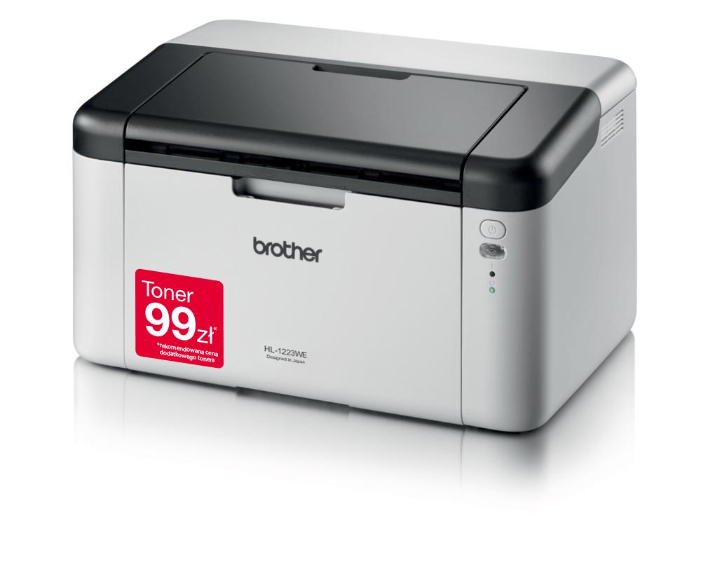 HL-1223WE bezprzewodowa drukarka monochromatyczna