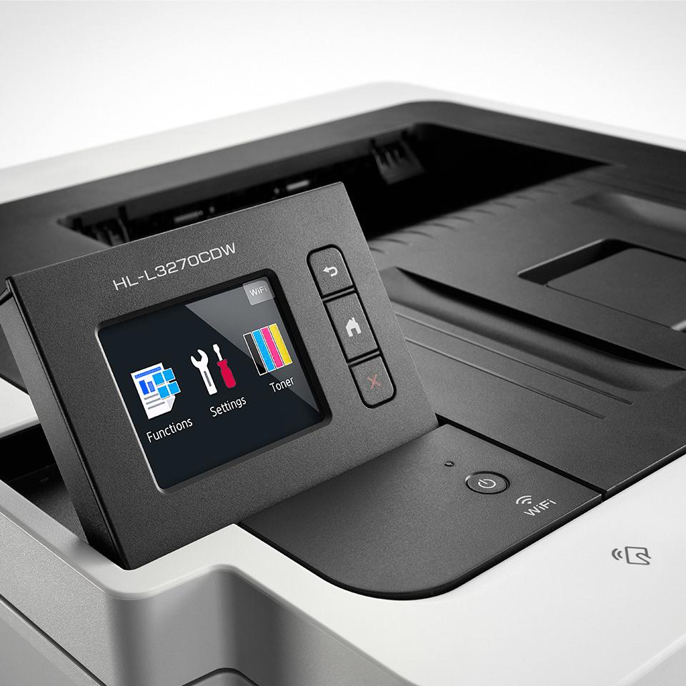 HL-L3270CDW - bezprzewodowa kolorowa drukarka LED 5