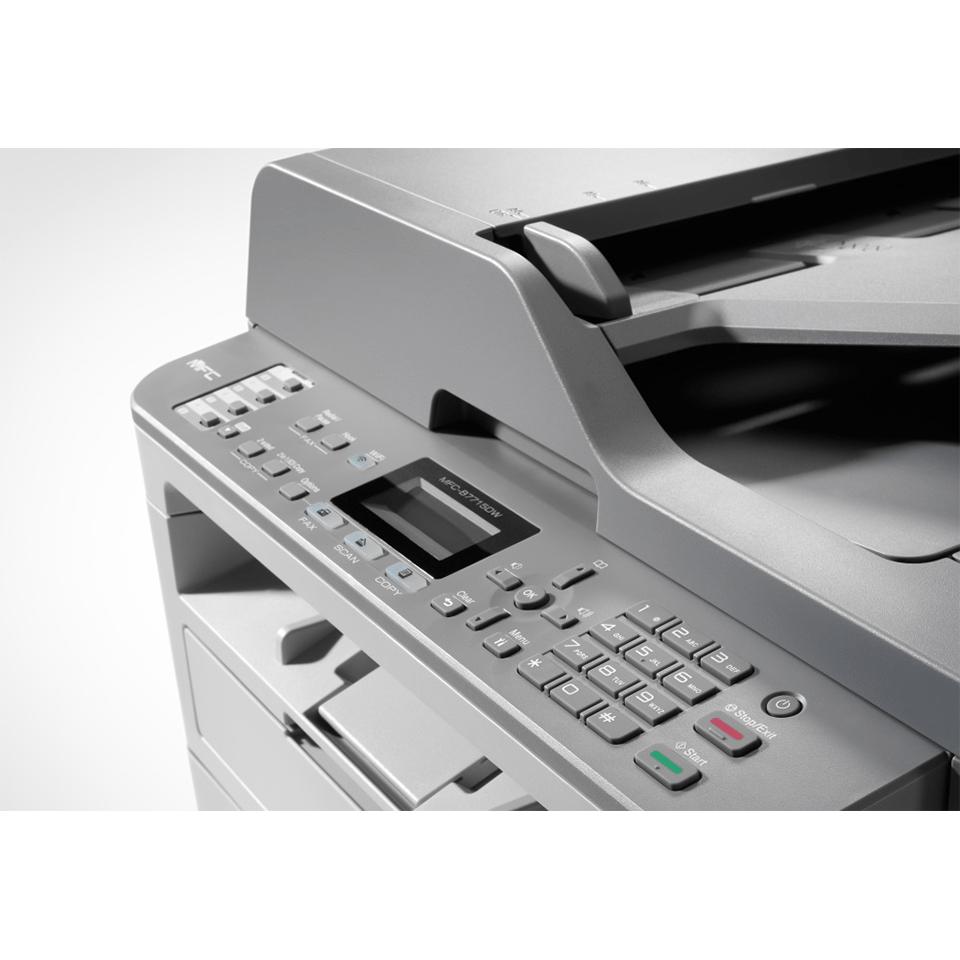 """MFC-B7715DW Niewielka drukarka laserowa typu """"4 w 1"""" 7"""