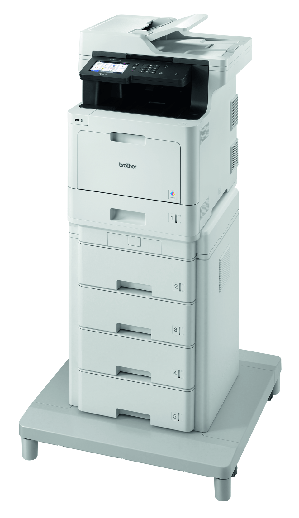 MFC-L8900CDWMT Professional Colour, Duplex, Wireless Laser All-in-one Printer + Tower Tray + Tower Tray Connector 2