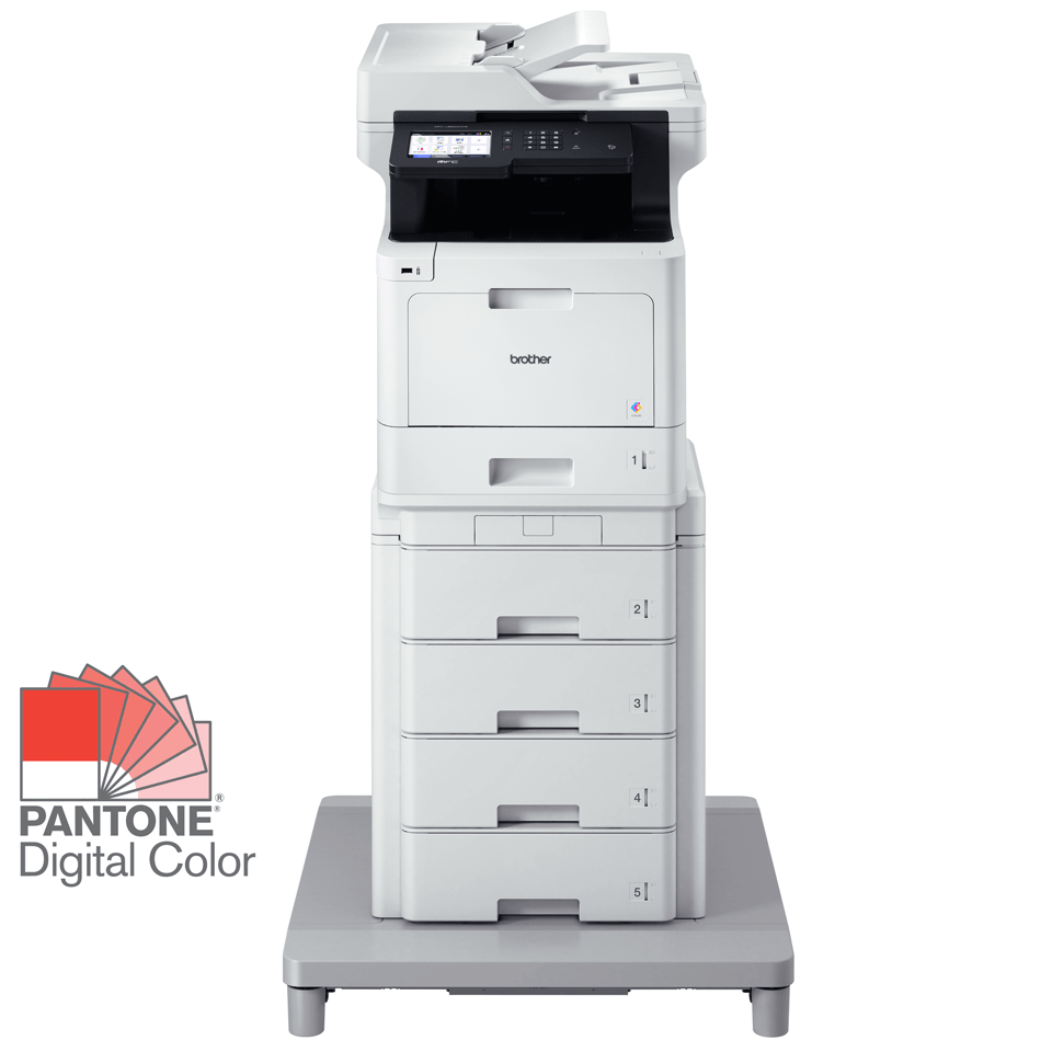 MFC-L8900CDWMT Professional Colour, Duplex, Wireless Laser All-in-one Printer + Tower Tray + Tower Tray Connector