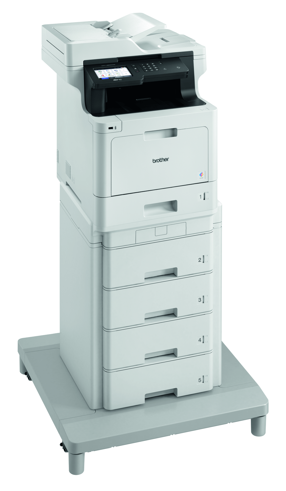 MFC-L8900CDWMT Professional Colour, Duplex, Wireless Laser All-in-one Printer + Tower Tray + Tower Tray Connector 3