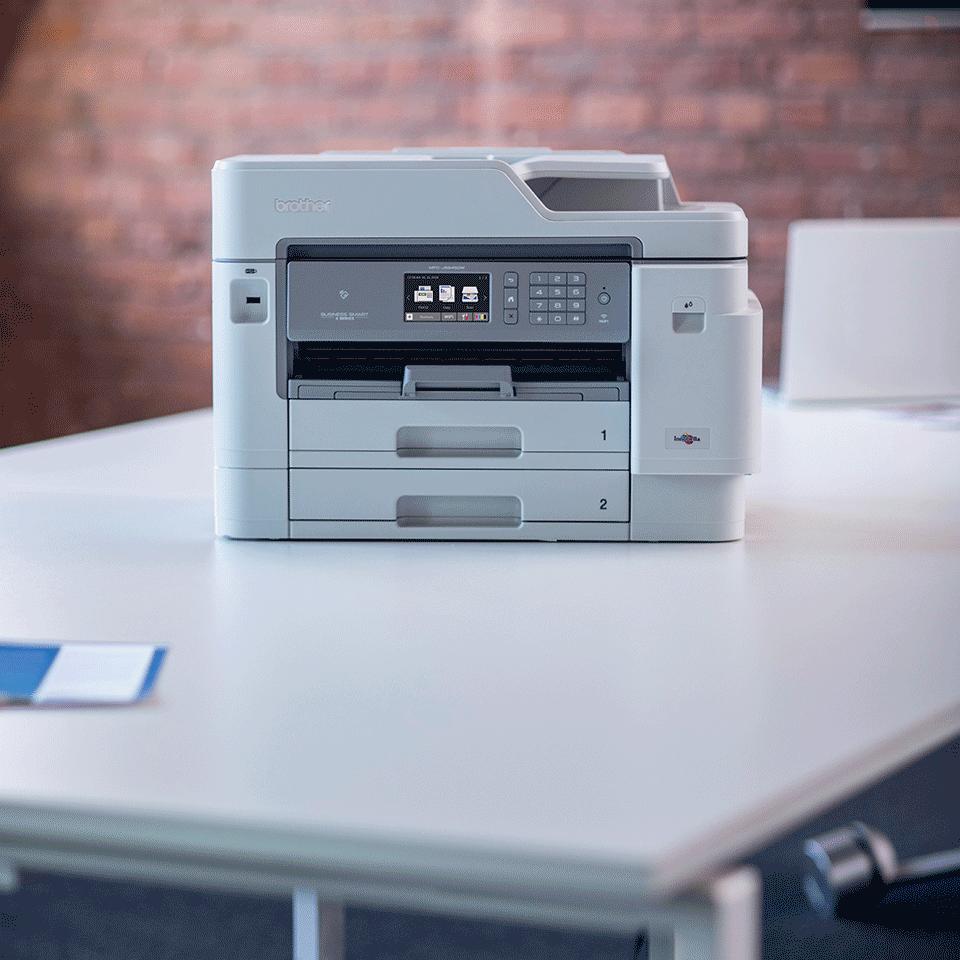 MFC-J5945DW Kolorowe atramentowe urządzenie wielofunkcyjne drukujące w formacie A3  4