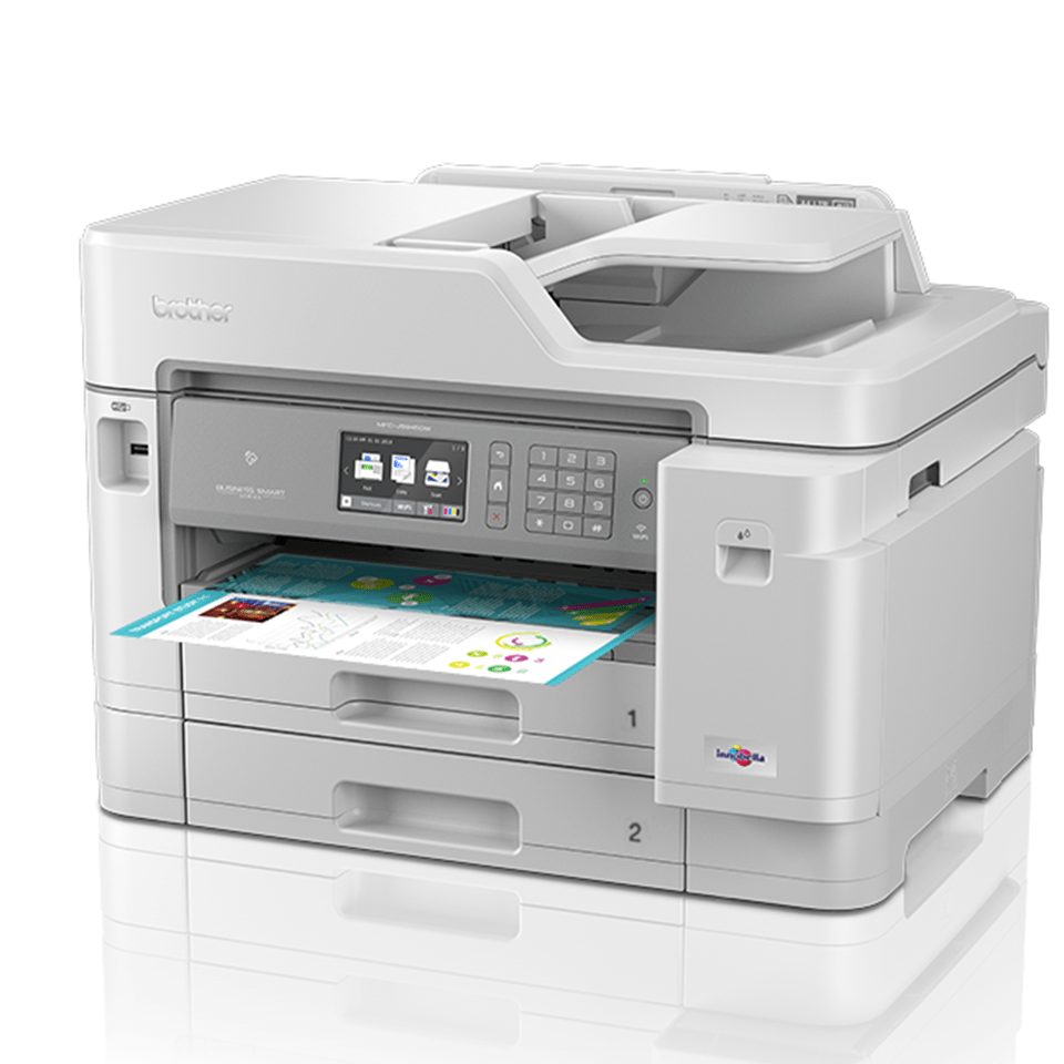 MFC-J5945DW Kolorowe atramentowe urządzenie wielofunkcyjne drukujące w formacie A3  2