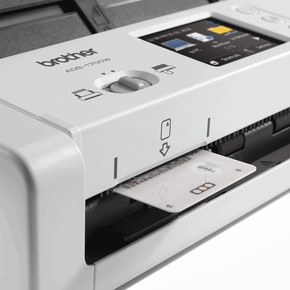 ADS-1700W kompaktowy skaner dokumentów 6
