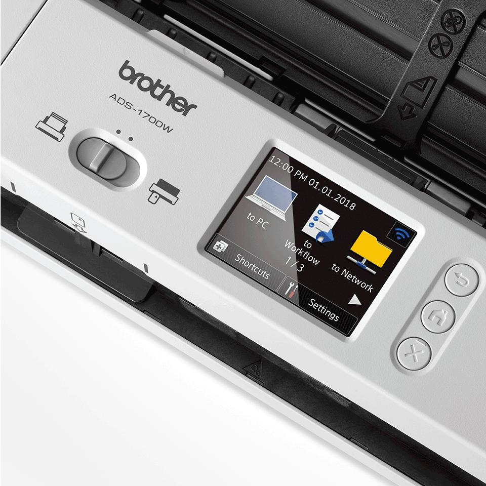 ADS-1700W kompaktowy skaner dokumentów 7