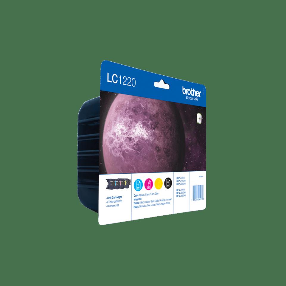 Oryginalny zestaw tuszy Brother LC-1220VALBP 2