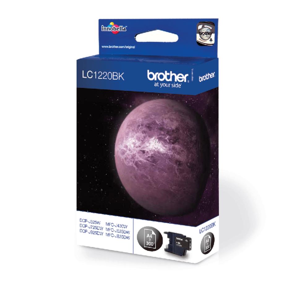 Oryginalny czarny tusz Brother LC-1220BK 2