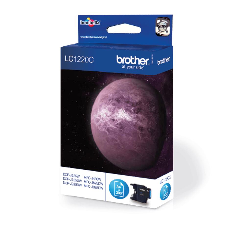 Oryginalny tusz Brother LC-1220C – cyan 2