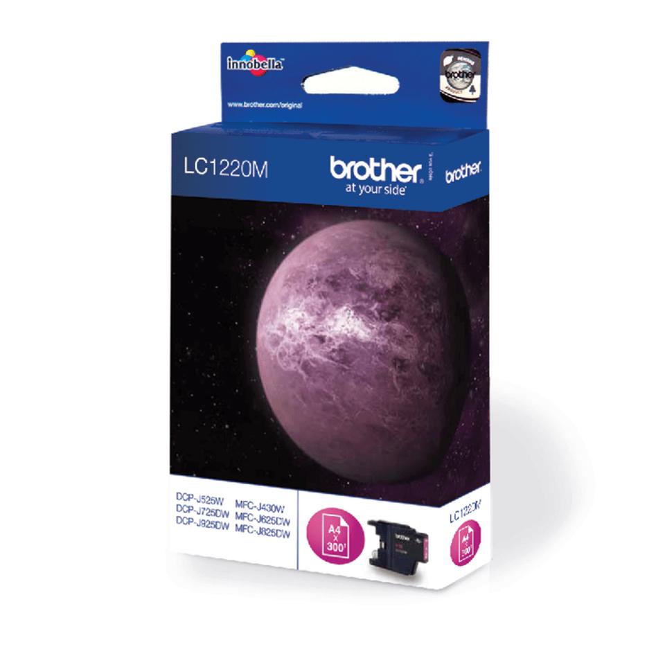 Oryginalny tusz Brother LC-1220M – magenta 2