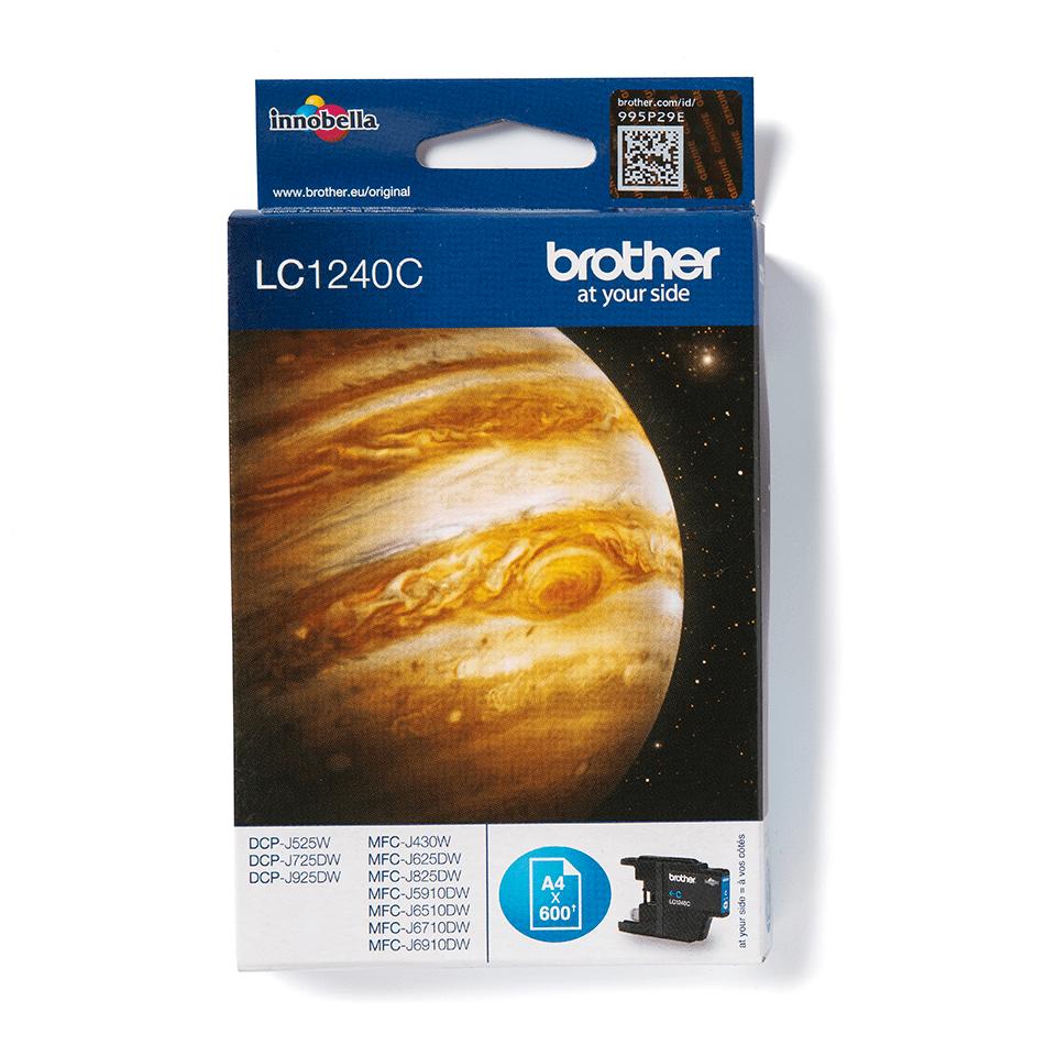 Oryginalny tusz Brother LC-1240C – cyan