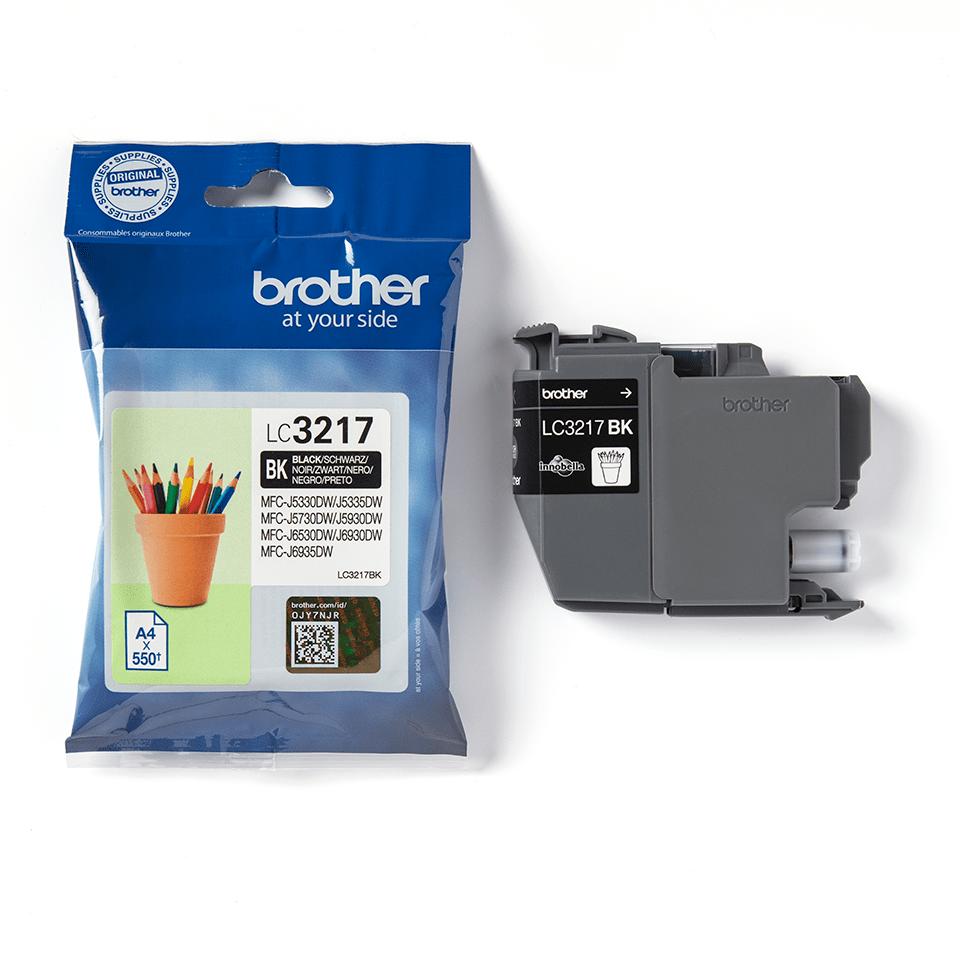 Oryginalny tusz Brother LC3217BK – czarny 3