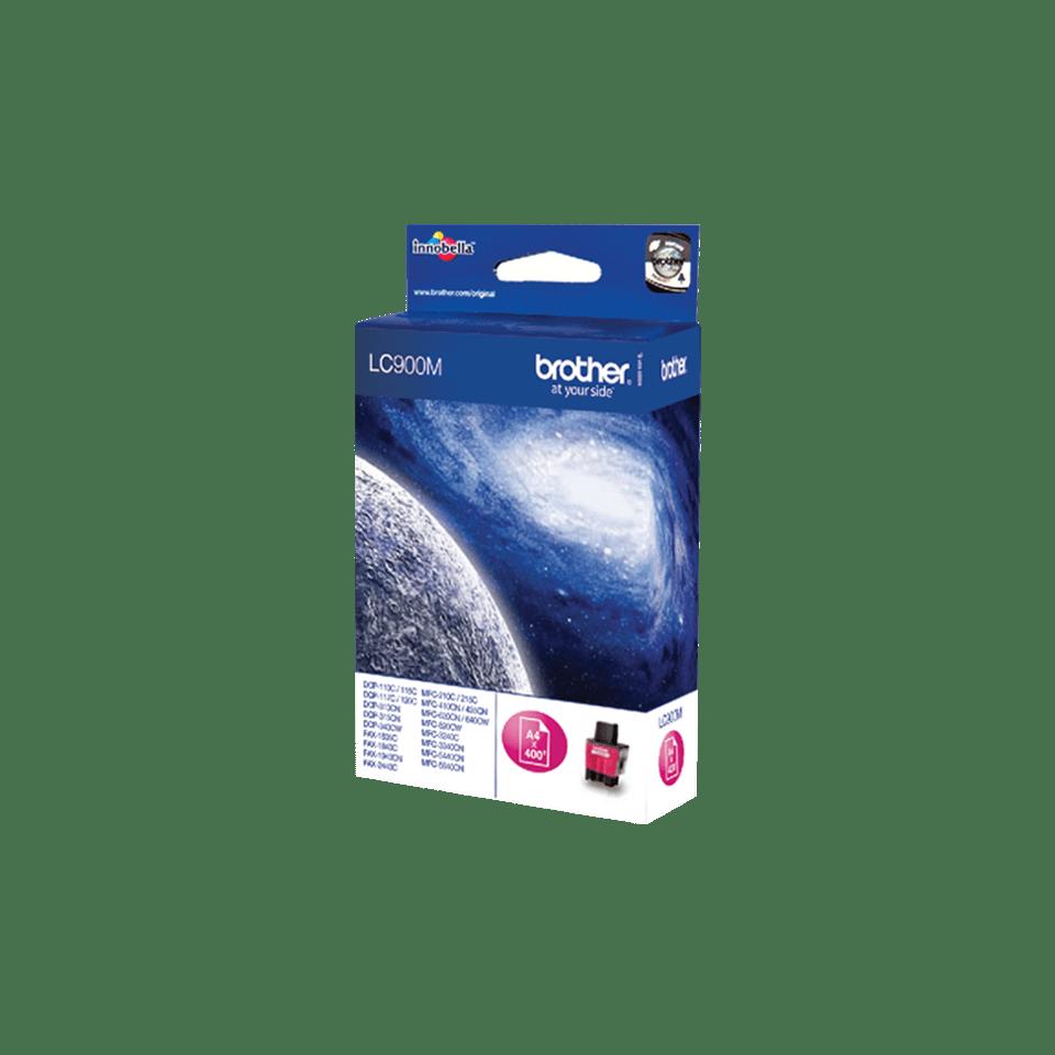 Genuine Brother LC900M Ink Cartridge – Magenta 2