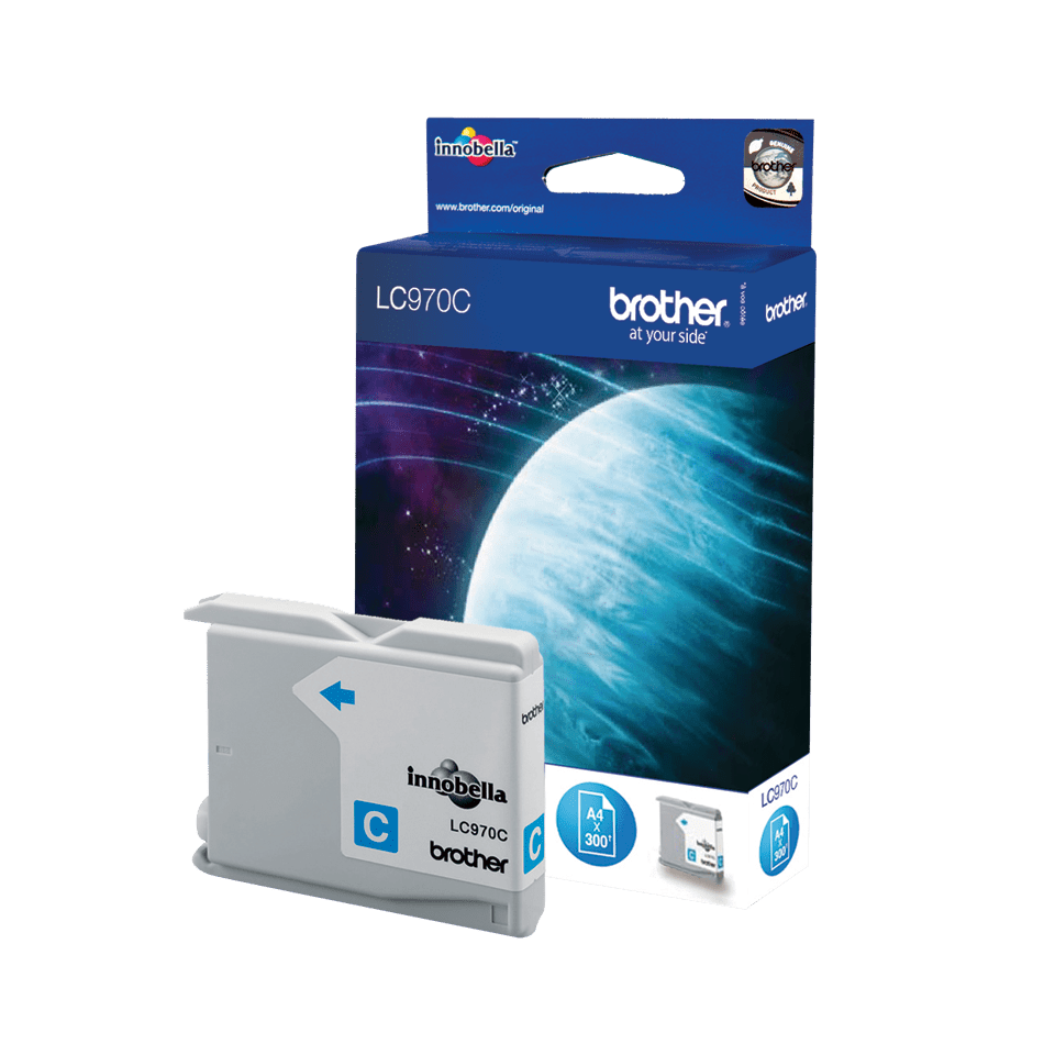 Oryginalny tusz Brother LC-970C – cyan