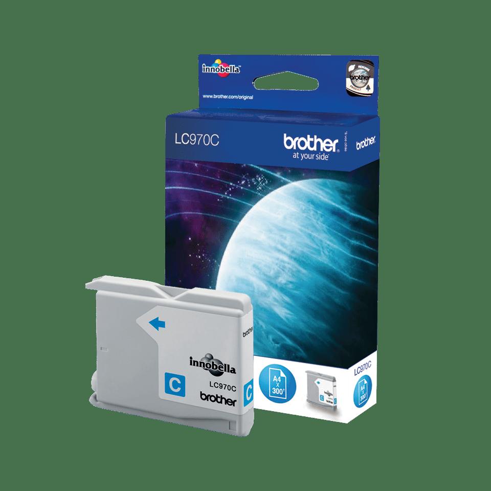 Oryginalny tusz Brother LC-970C – cyan