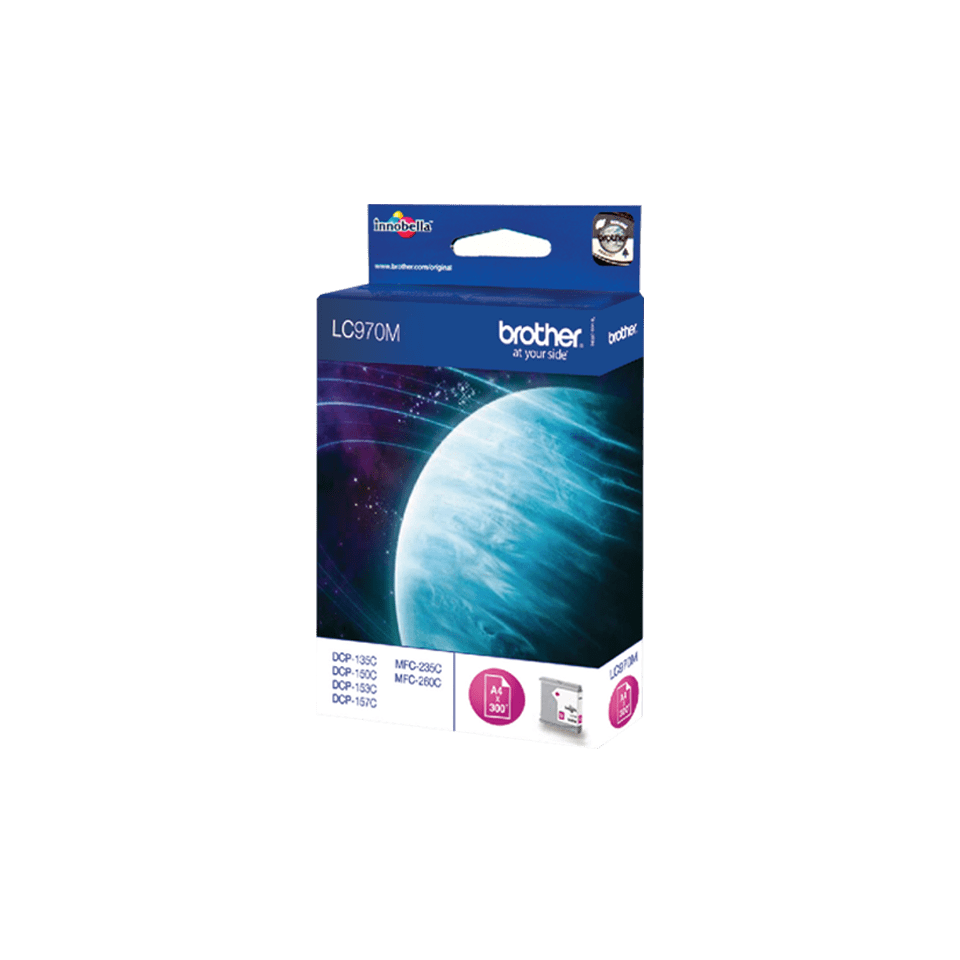 Oryginalny tusz Brother LC-970M – magenta