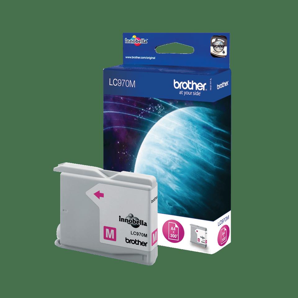 Oryginalny tusz Brother LC-970M – magenta