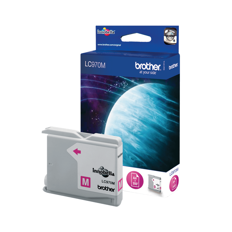 Oryginalny tusz Brother LC-970M – magenta 2